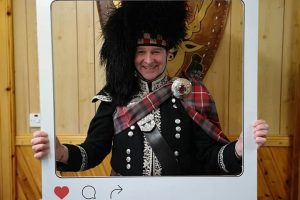 North Highland Events - Highland Hooley Ceilidh Spud the Piper