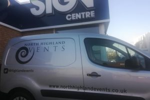 North Highland Events - NHE Van